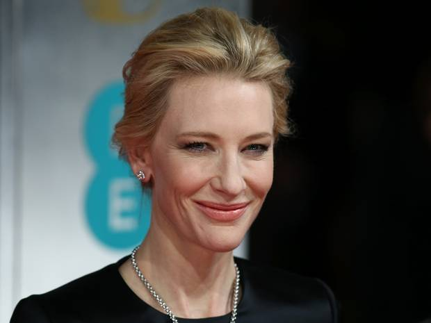The Australian actress dedicated her accolade to the late Philip Seymour Hoffman