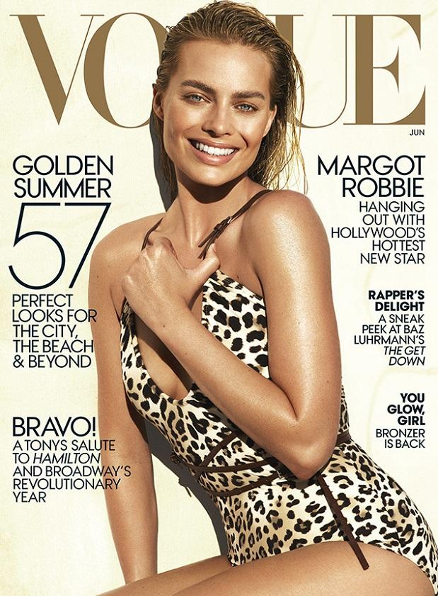 Margot Robbie Vogue Cover 2016 Celebrity