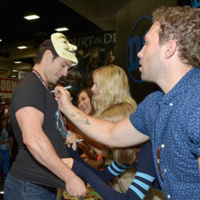 Suicide Squad Cast Signing at San Diego Comic Con 2016 Jai Courtney
