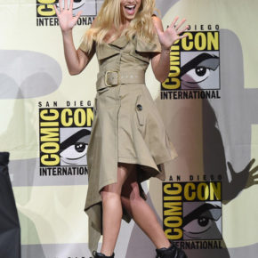 Margot Robbie at Comic Con for Suicide Squad