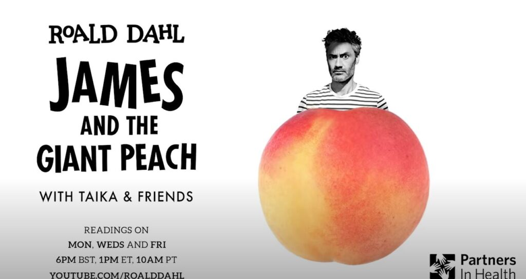 James and the Giant Peach Celebrity News