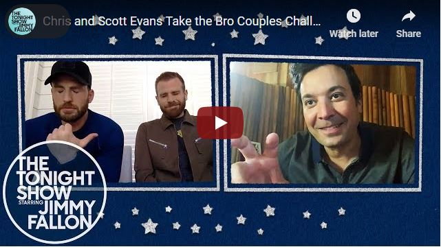 Jimmy Fallon Know Your bro with Chris Evans