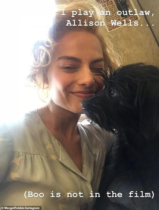 Margot Robbie stars in Dreamland Instagram